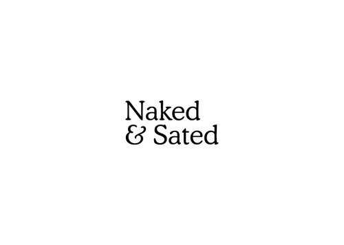 Naked & Sated logo